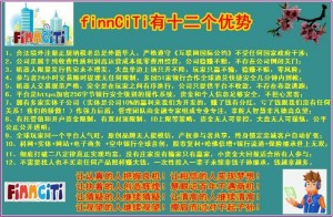 Finnciti有十二个优势
