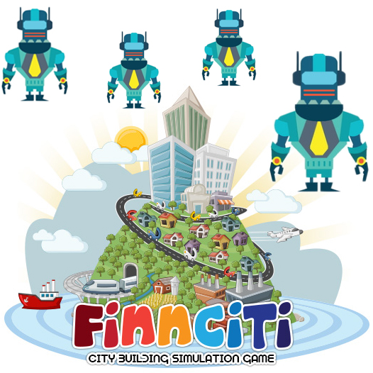 Finnciti Robots Financial Management Game